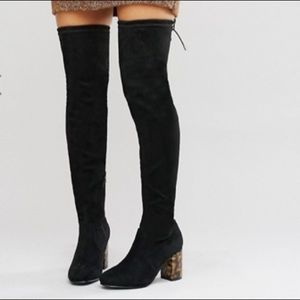 Brand new ASOS Kade geeked over the knee boots